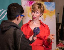 Галина Шабшай. Презентация книг в Одессе